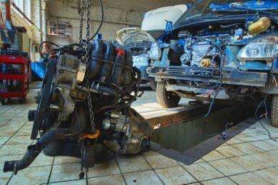 Замена двигателя на Газели
