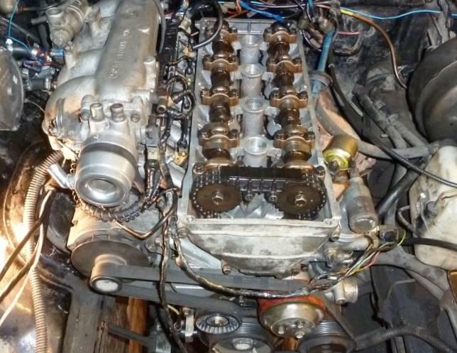 Замена цепи ГРМ на 406 двигателе
