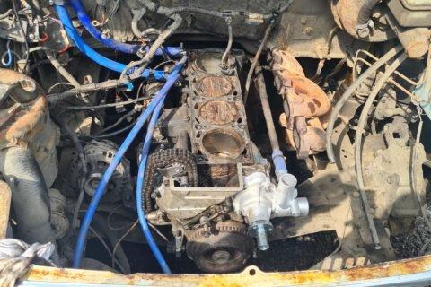 Очередной ремонт двигателя